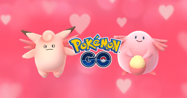 Pokemon GO na Walentynki event