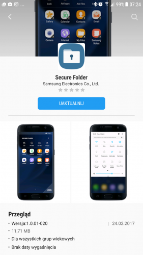 Samsung Bezpieczny Katalog Secure Folder