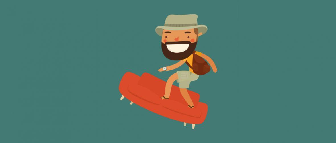 Koniec z podróżowaniem za darmo. Couchsurfing wprowadza nową opłatę