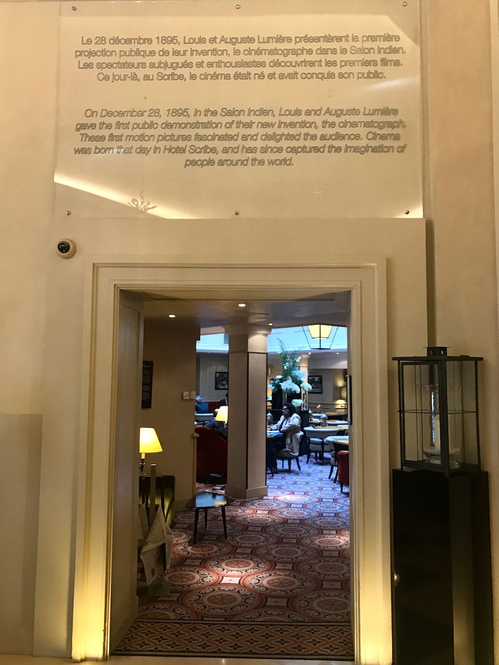 Hotel Scribe, 6