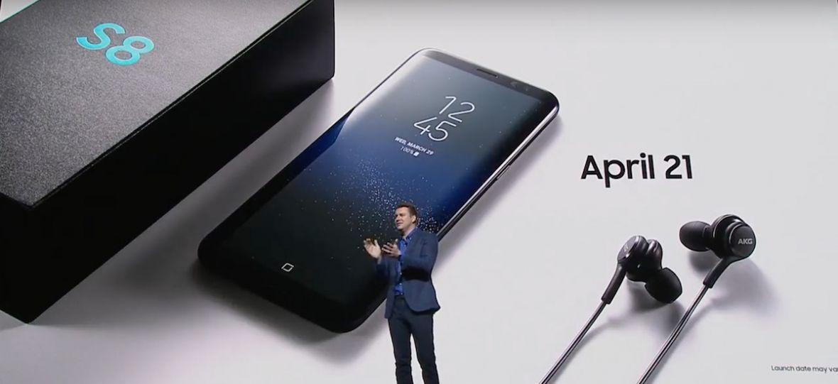 W zestawie z Samsungiem Galaxy S8 nie znajdziesz zwykłych słuchawek. Będą niezwykłe