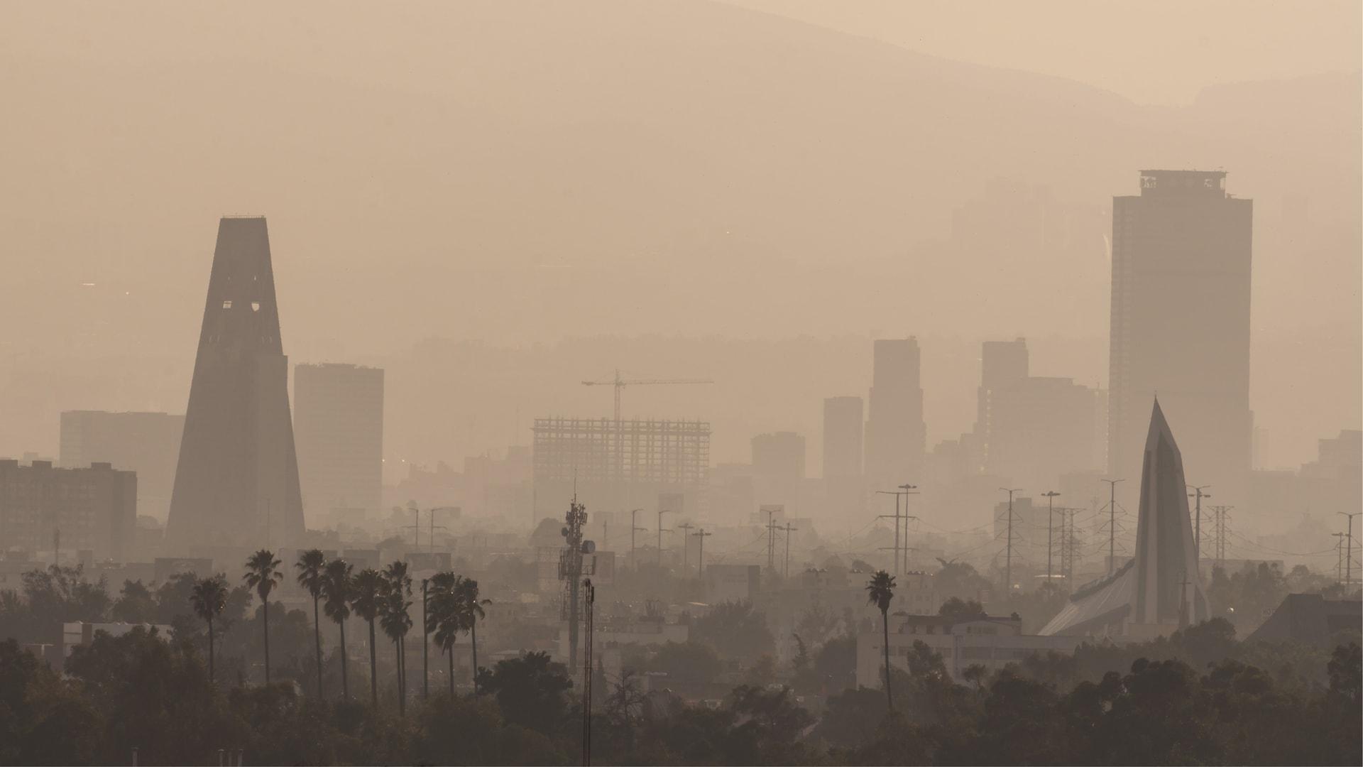 Smog w Meksyku - miasto Meksyk
