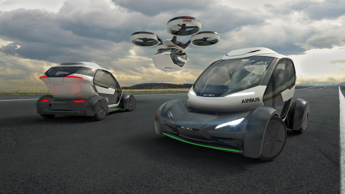 Czy to samochód? Samolot? A może pociąg? Airbus pokazał koncept pojazdu przyszłości