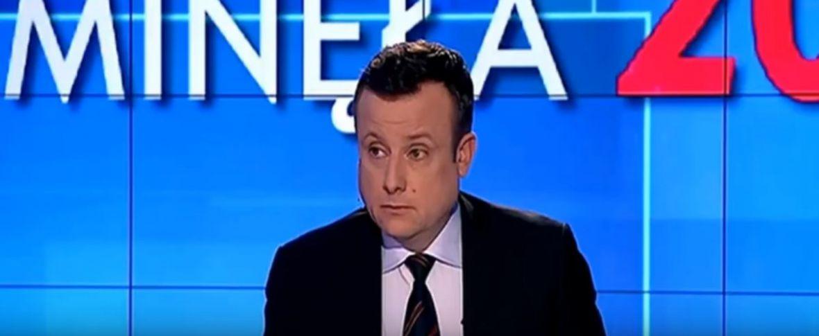Dawno nie widziałem takiego nokautu w publicznej debacie, jaki urządził wczoraj Węglarczyk w TVP Info