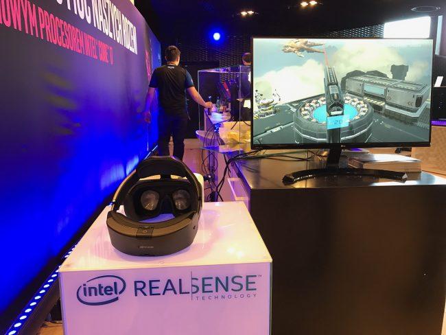 Intel IEM 2017 intel realsense vr