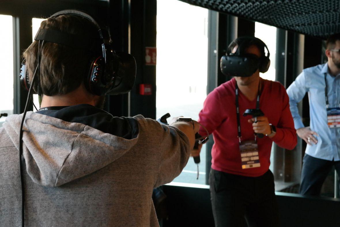 HyperVR to jedna z najciekawszych gier w wirtualnej rzeczywistości. Na IEM 2017 sprawdziliśmy ten polski projekt
