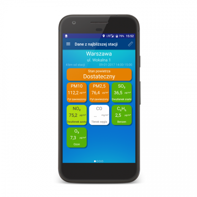 aplikacja smogowa - smog w polsce