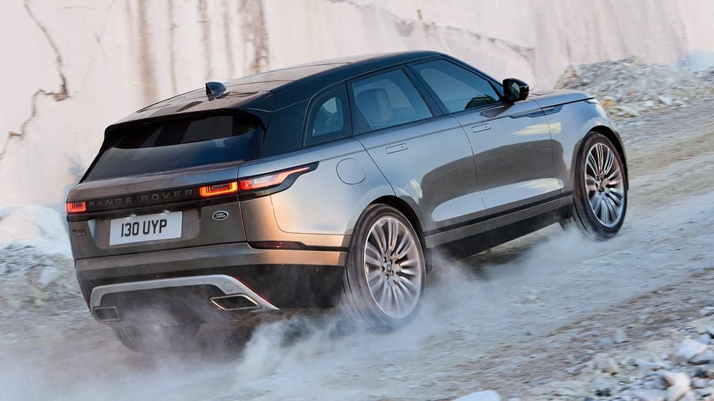 Range Rover Velar prezentuje się niesamowicie.