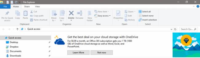 reklamy w Windows 10