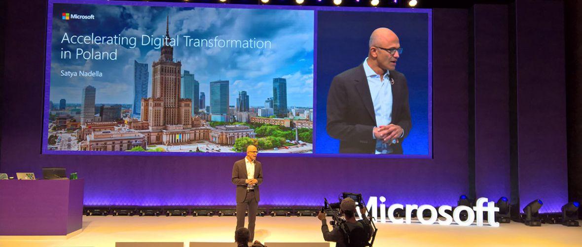 Byłem świadkiem pokazu siły Microsoftu – Satya Nadella przyjechał do Polski