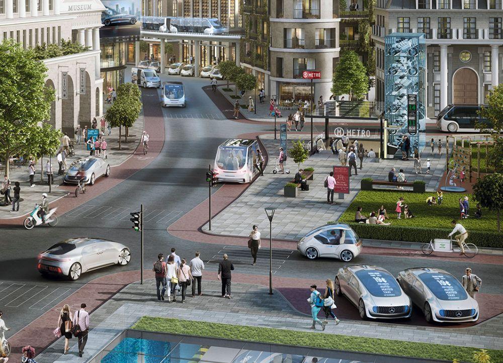 Mercedes Bosch autonomiczne taksówki