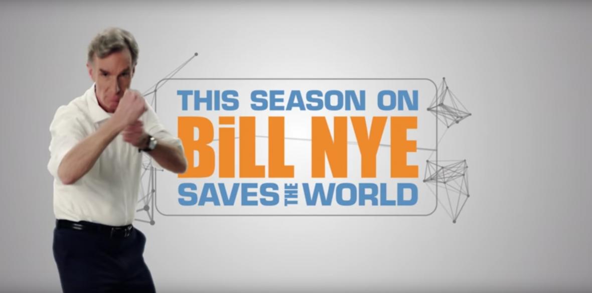 Tego serialu Netfliksa nie możesz przegapić. Bill Nye Ratuje Świat to nauka dla każdego