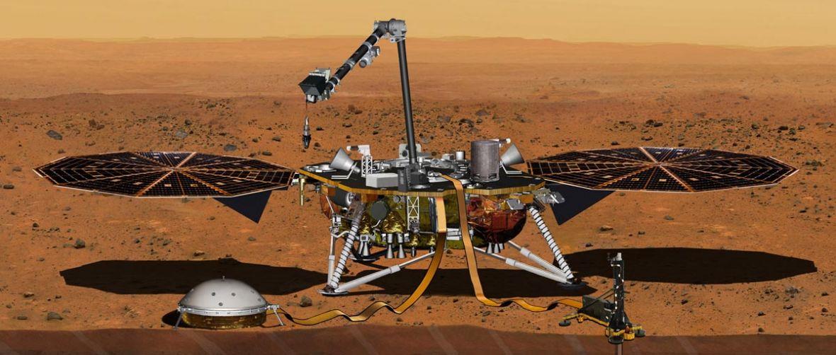 """Stworzony przez polską firmę """"Kret"""" wbije się w powierzchnię Marsa"""