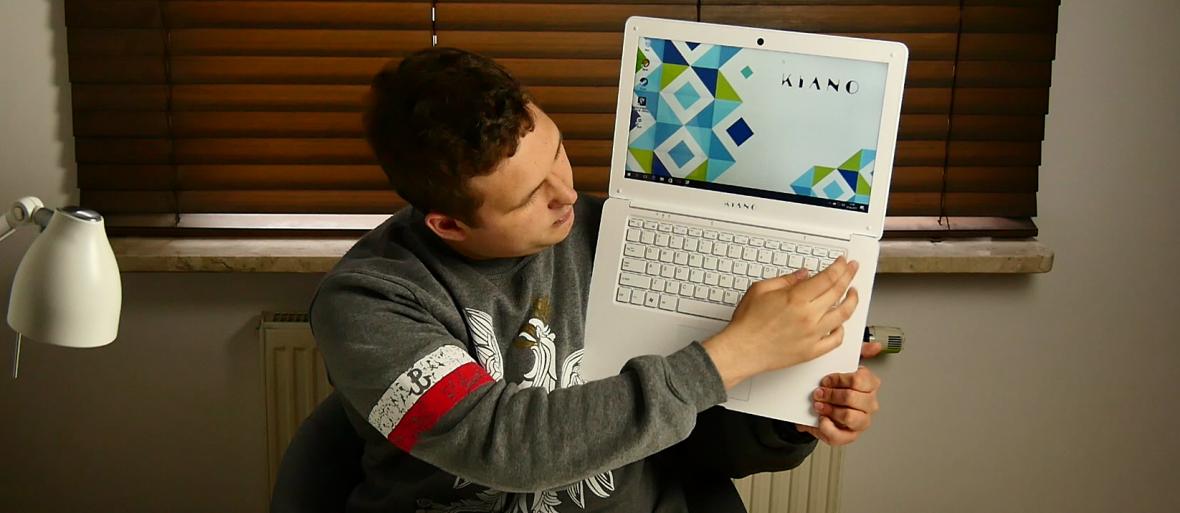 Przetestowaliśmy Kiano SlimNote 14.1 – polski laptop z Biedronki za 599 zł