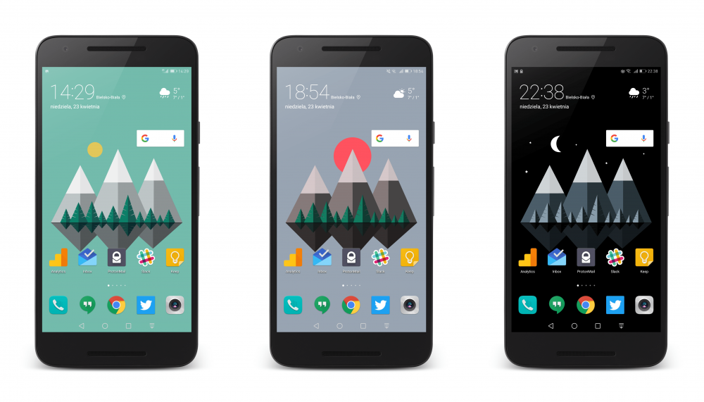 Material Islands to świetne tapety material design na Androida