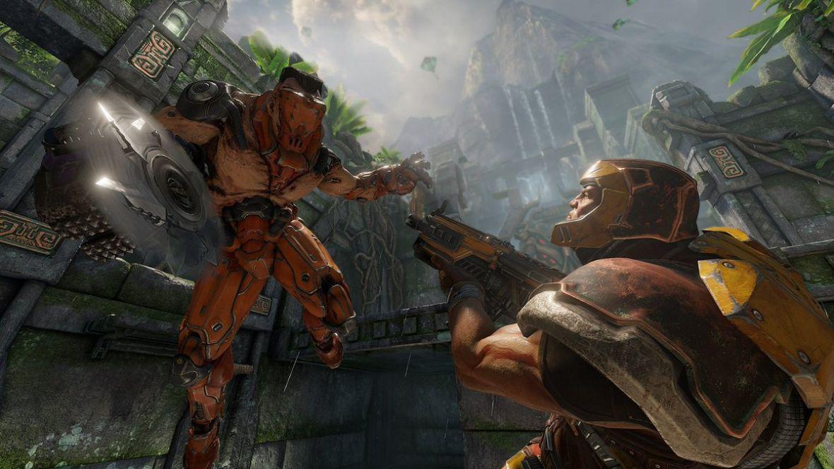 Pierwszy czysty gameplay z Quake Champions. Naprawdę obawiam się o ten tytuł
