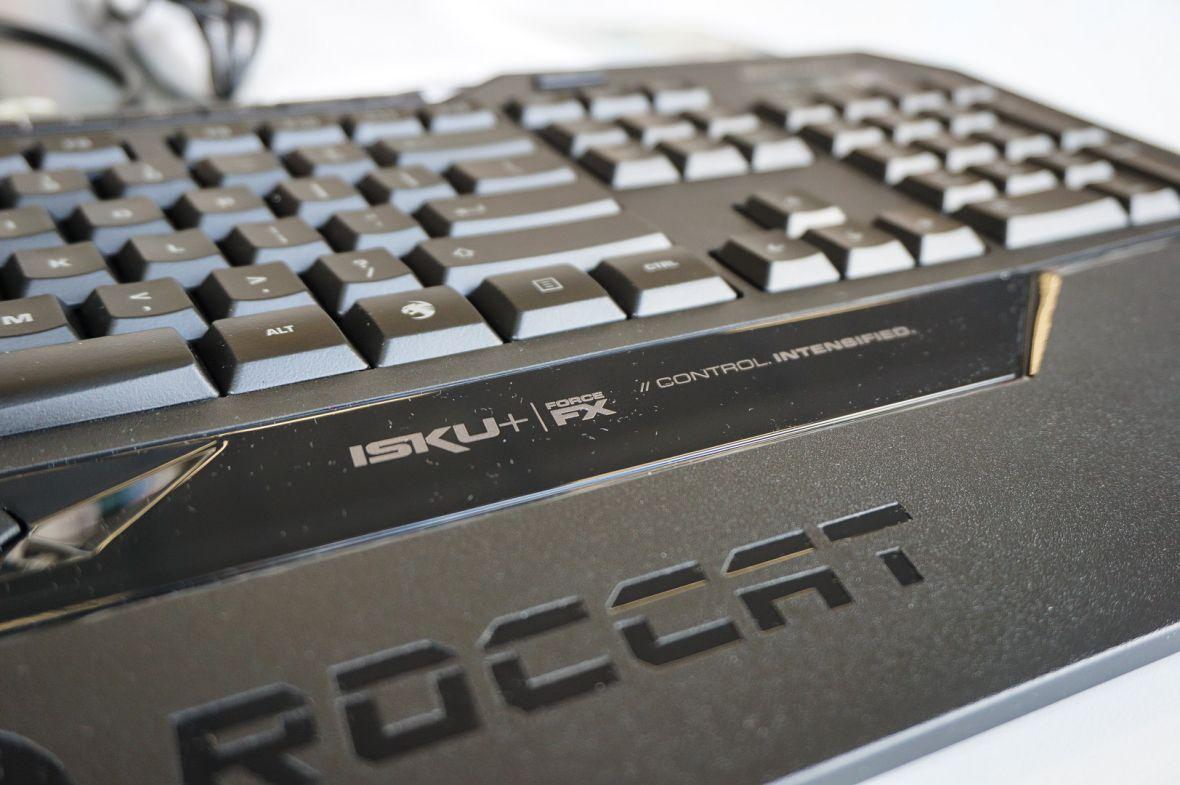 Nie sądziłem, że zaskoczy mnie… klawiatura. Roccat Isku+ Force FX jest czuła nie tylko na dotyk, ale też jego siłę