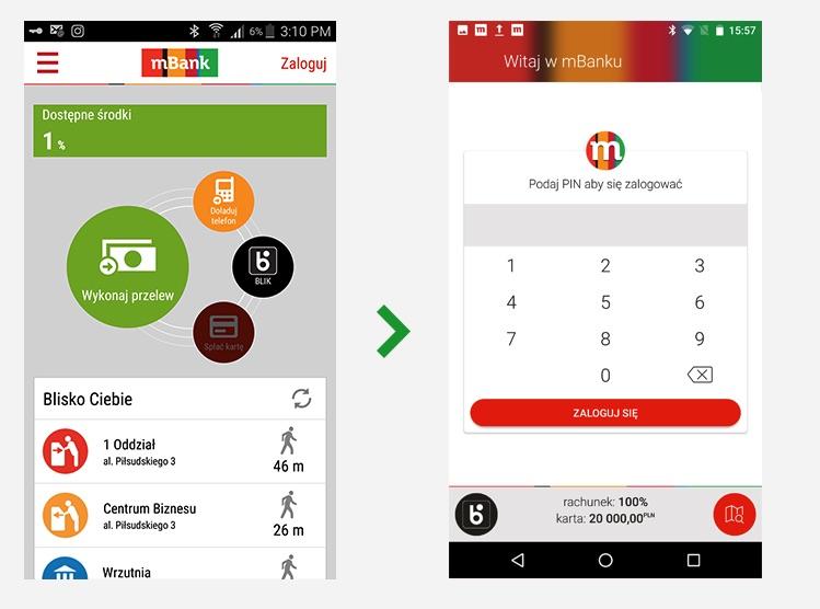 Tak wygląda aktualizacja mBank 3.0 na Androida