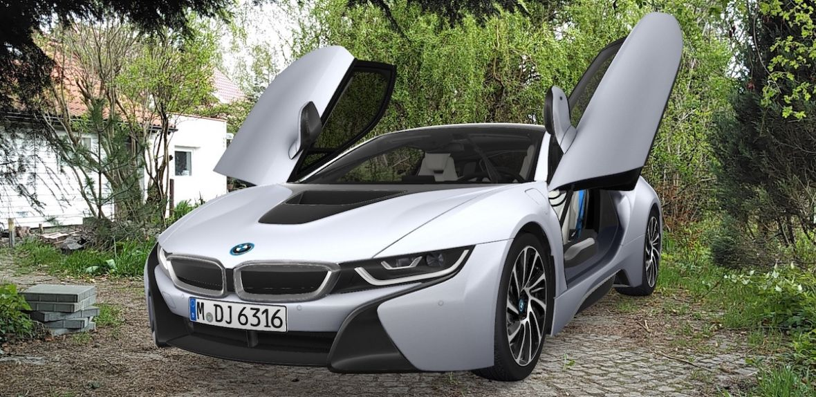 bmw visualiser i8