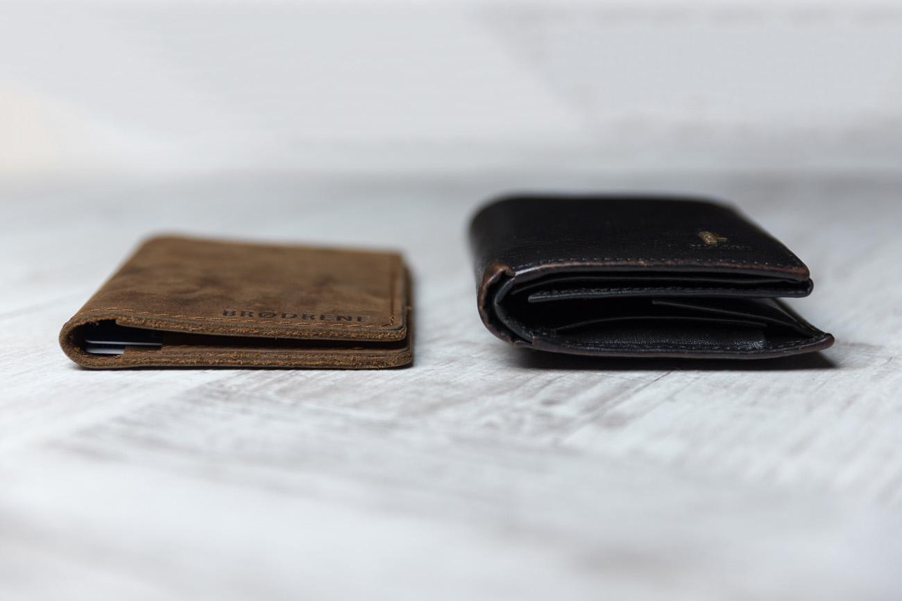 fb7b0da386c6 Brodrene - cienki portfel - slim wallet