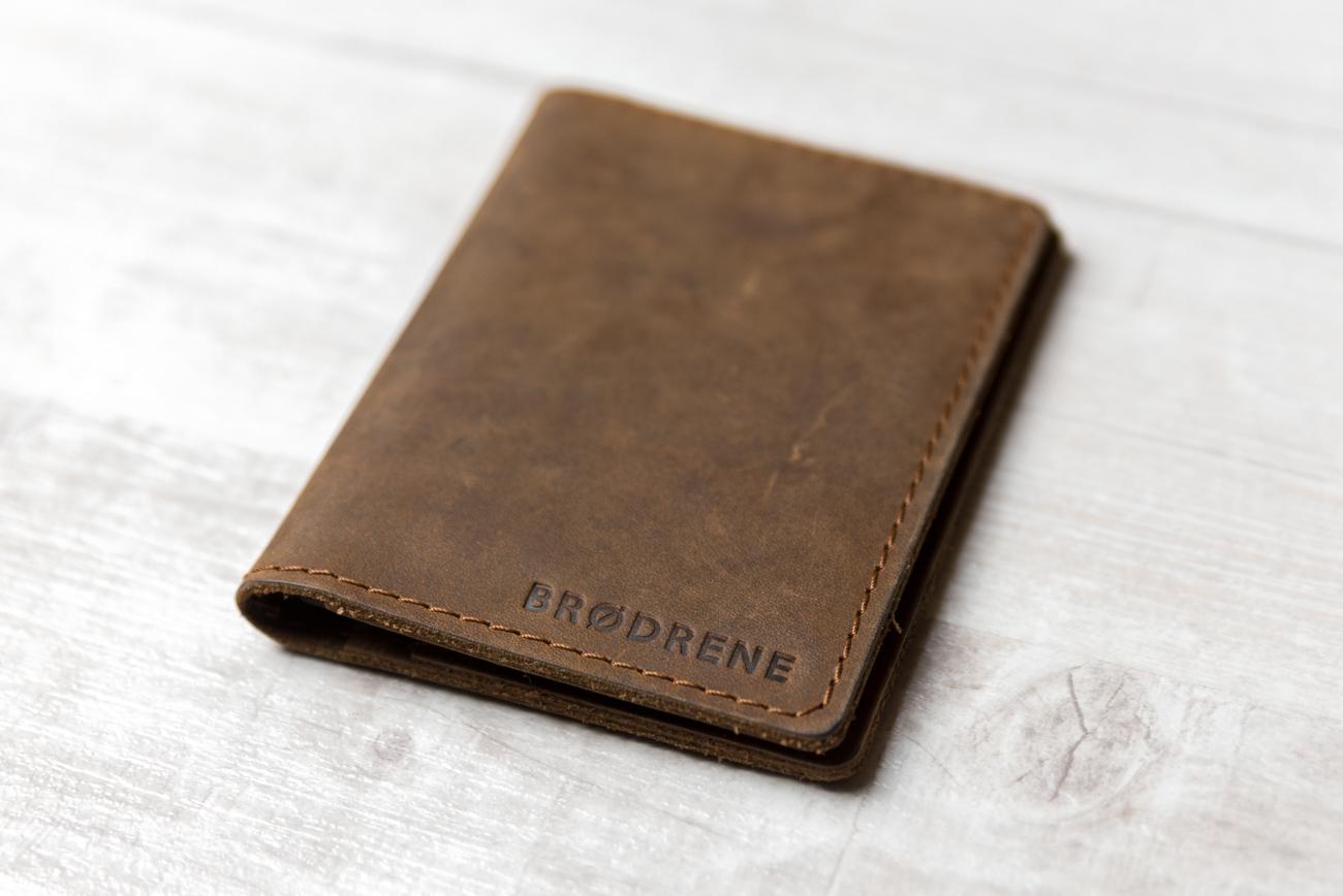 Brodrene - cienki portfel - slim wallet