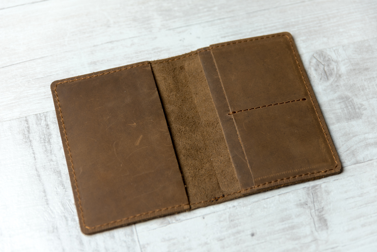 3f8065f6ca804 Brodrene - cienki portfel - slim wallet