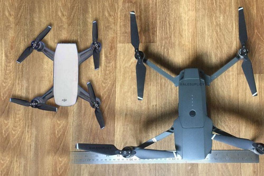 DJI Spark nowy dron mniejszy od DJI Mavic Pro