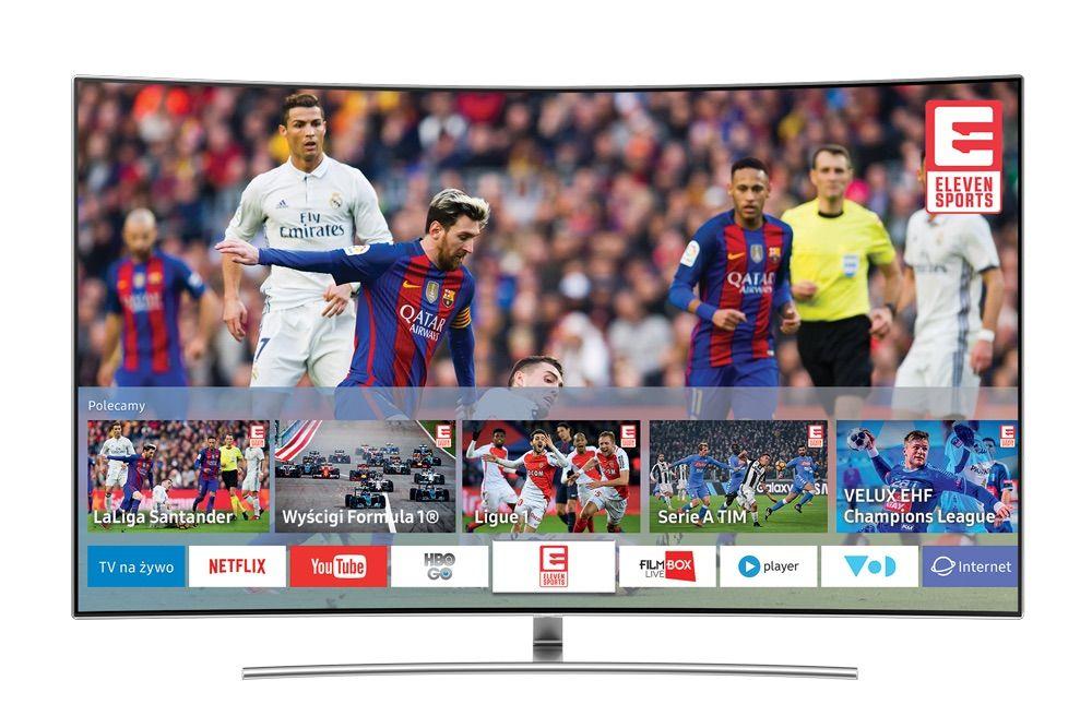 Eleven Sports w aplikacji na Samsung SMart TV