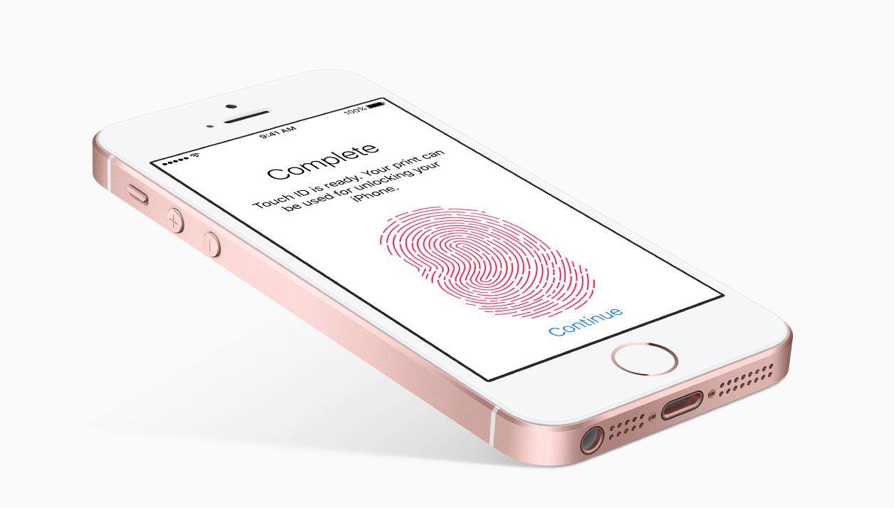 iphone 8 czytnik linii papilarnych touch id