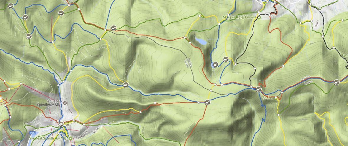 Mapa Turystyczna Aplikacja Dla Ktorej Wyciagam Telefon W Gorach