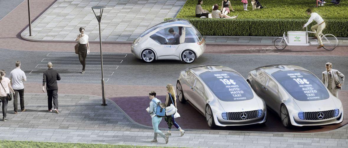 Mercedes i Bosch chcą żebyśmy… przestali kupować samochody. To świetny plan