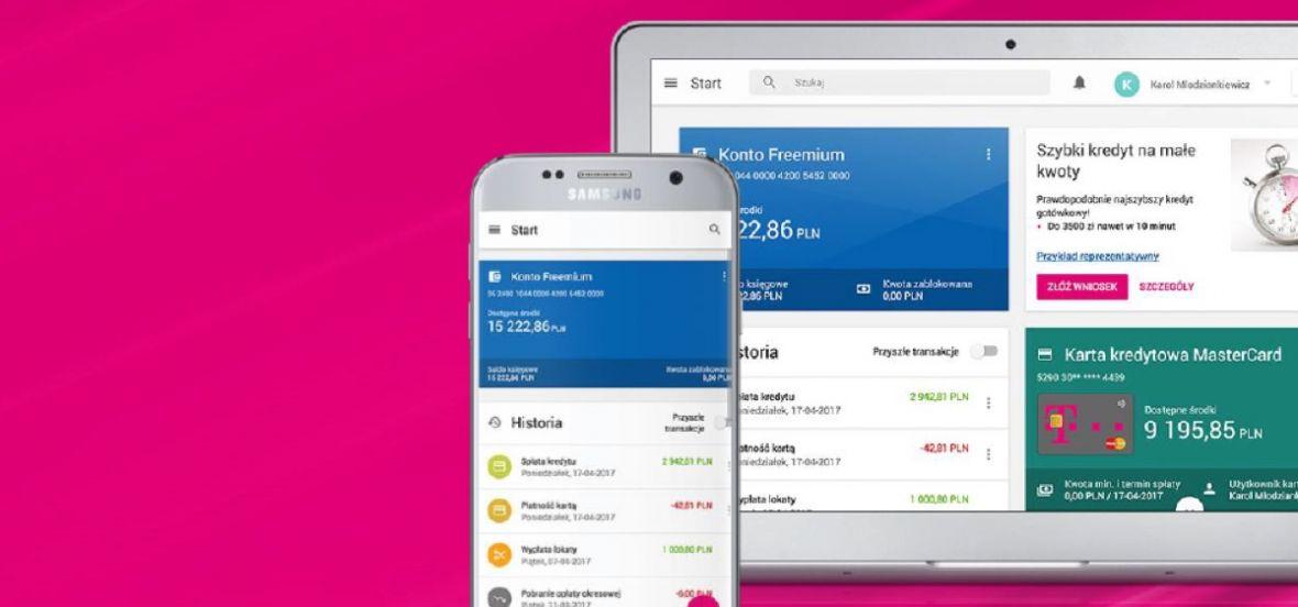 Debiutuje nowa wersja T-Mobile Usługi Bankowe w przeglądarce. Spodoba sięużytkownikom Androida