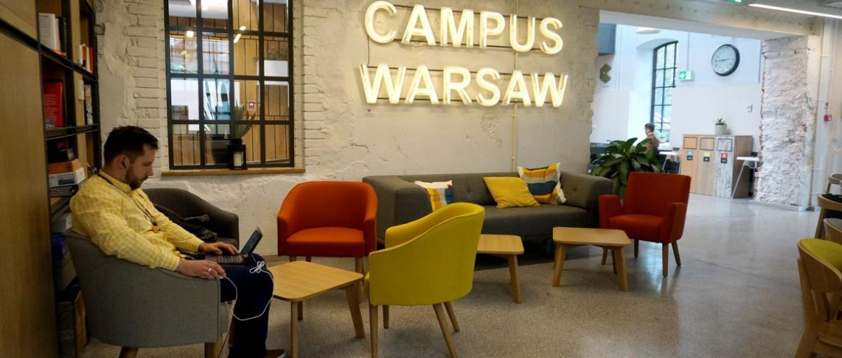 Tak wygląda nowy Campus Google w Warszawie – relacja Spider's Web