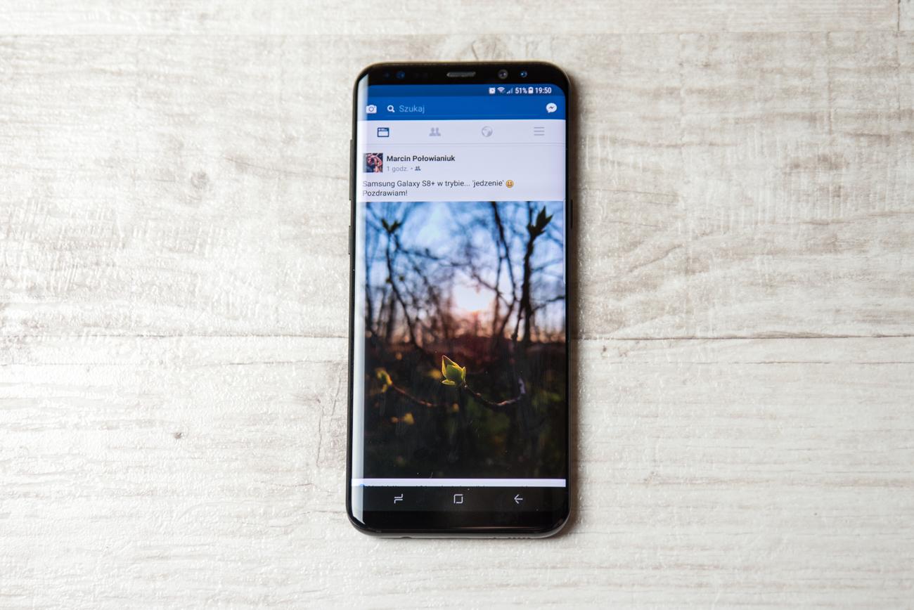 Samsung Galaxy S8 i S8+ - ekran
