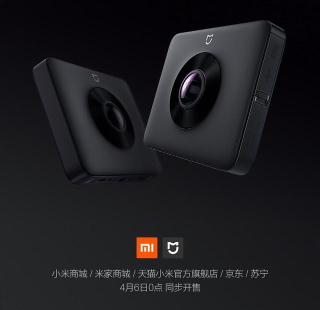 Xiaomi chce, żebyś filmował na okrągło. Do oferty wchodzi pierwsza kamera sferyczna