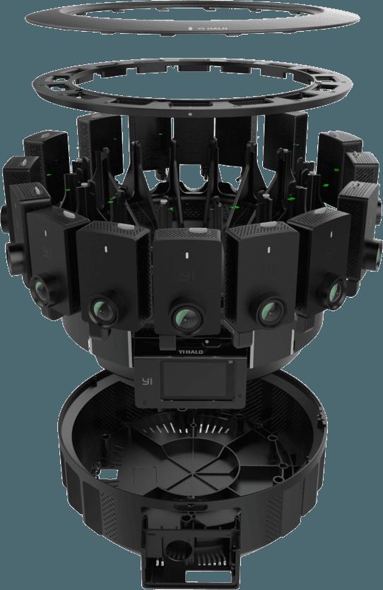 Xiaomi YI Halo 360 - kamera sferyczna 360 VR