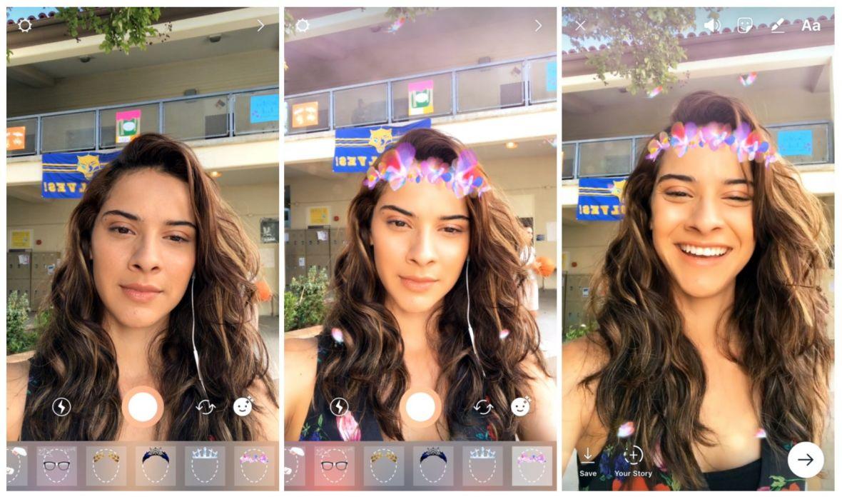 Stało się. Instagram zdobył ostatni bastion Snapchata, kopiując… filtry na twarz