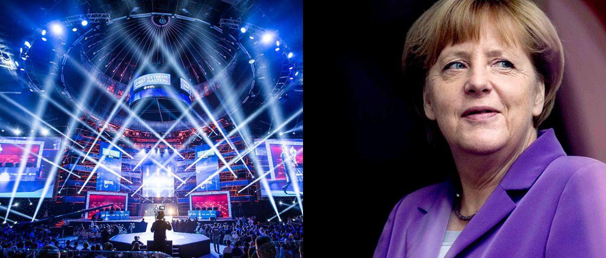Kanclerz Merkel otworzy Gamescom 2017. Ciekawe, kiedy Prezydent Polski otworzy Intel Extreme Masters