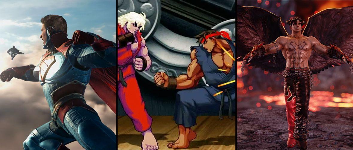 Wielki pojedynek wielkich bijatyk: Tekken 7 vs Injustice 2 vs Ultra Street Fighter II