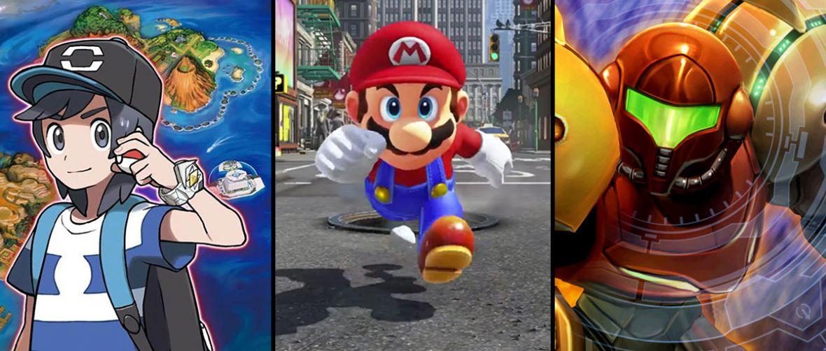 Nowe Pokemony! Nowy Metroid! Nintendo spełnia marzenia fanów