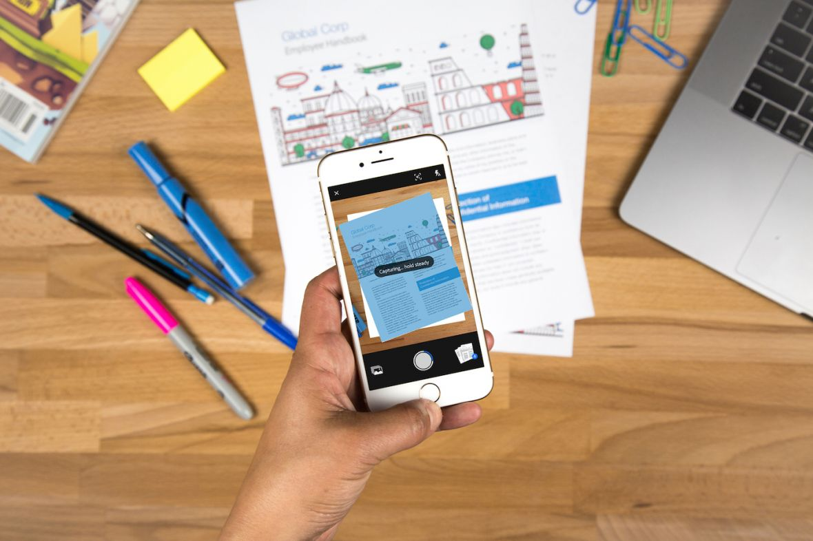 Skaner w twoim telefonie: nowa aplikacja Adobe i dwie alternatywne, które warto znać