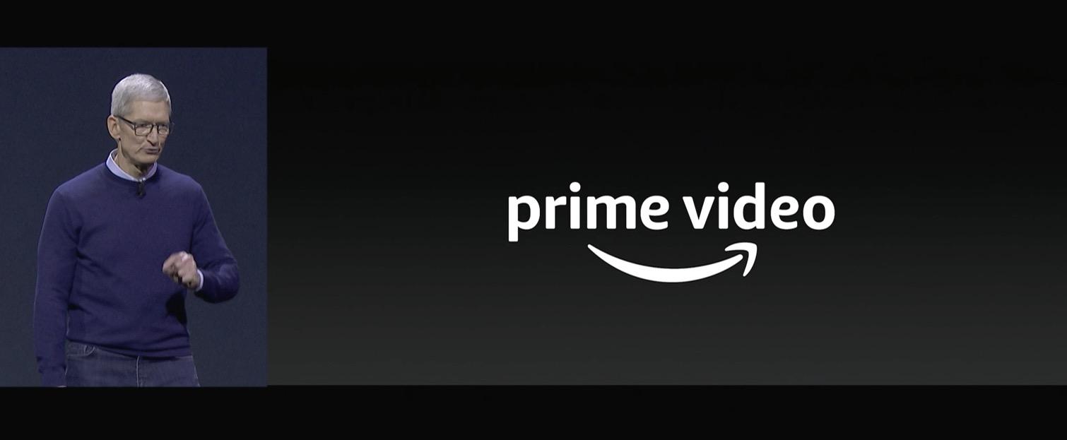 apple wwdc 2017 prime video amazon apple tv