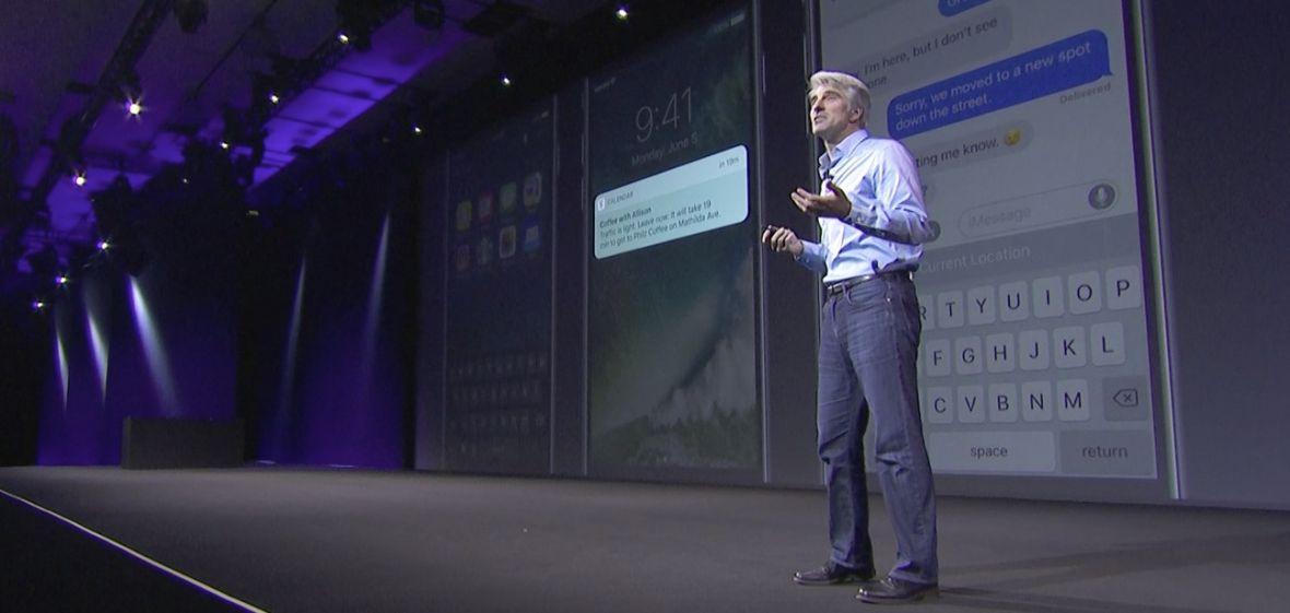 Zabrałem żonie iPada, żeby obejrzeć konferencję Apple. Przepraszam, kochanie