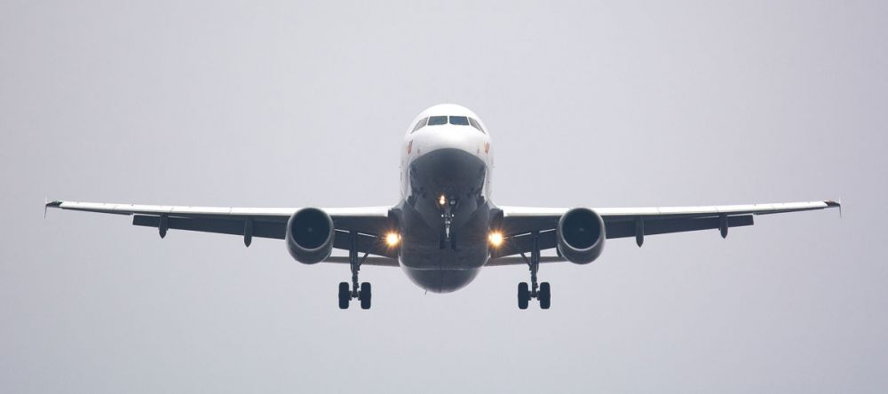 globalne ocieplenie samoloty