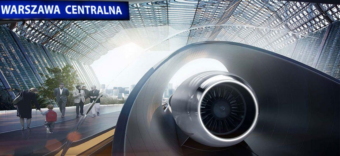 Wygraliśmy! Polska na liście krajów, w których powstanie Hyperloop