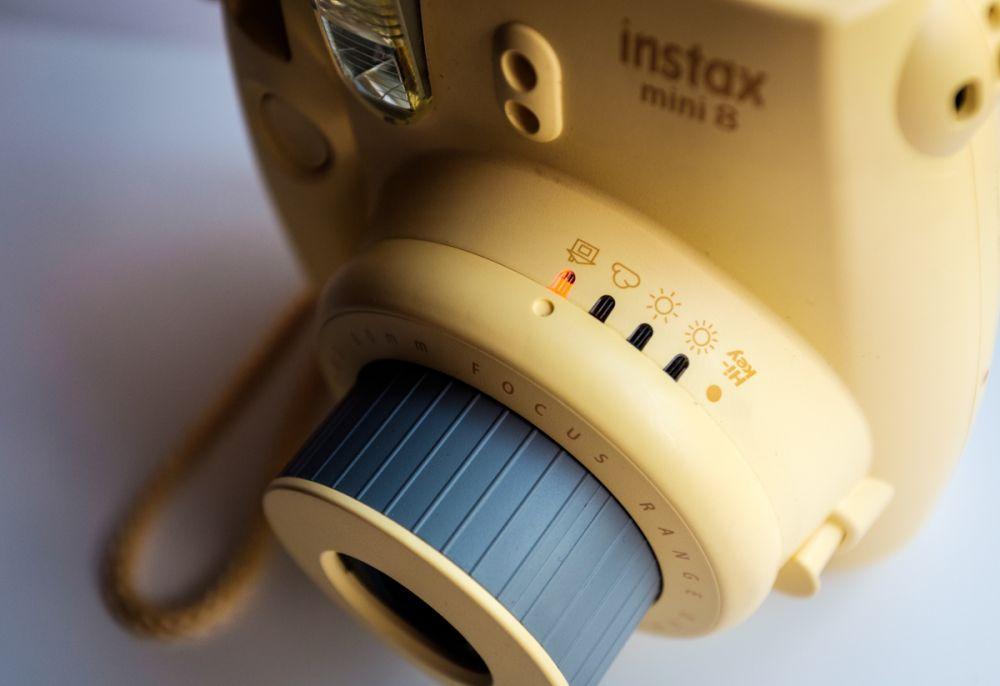 To jedyne ustawienia tego aparatu - to dziecinnie proste!