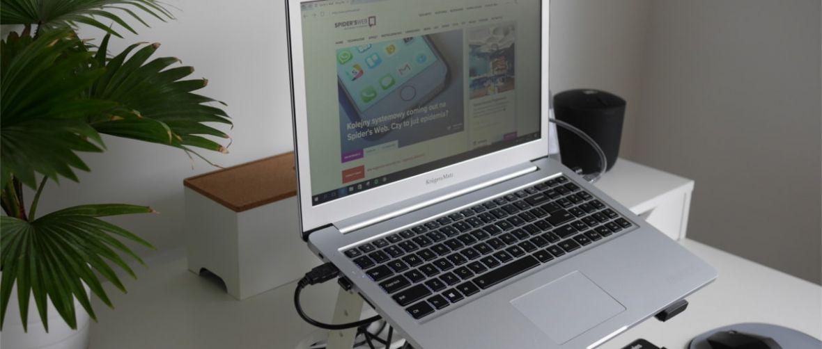 Laptop Explore PRO 1511 to taki polski MacBook Pro – dużo może, kosztuje niemało