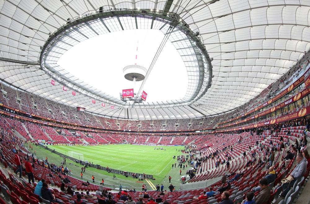 Stadion Narodowy: to tutaj dzisiaj Polska zagra z Rumunią.