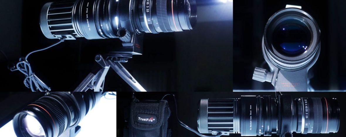 To urządzenie zamieni twój obiektyw w… projektor