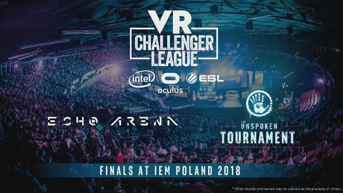 W Katowicach e-sport spotka się z wirtualną rzeczywistością. Na IEM 2018 obejrzymy finały nowej ligi VR